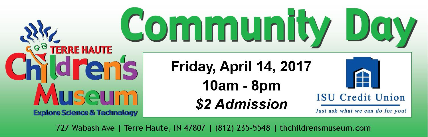 Community Day Web Banner ISU CREDIT UNION