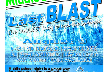 FEBRUARY 14 <BR>Middle School Night: Buddy Bash</br>