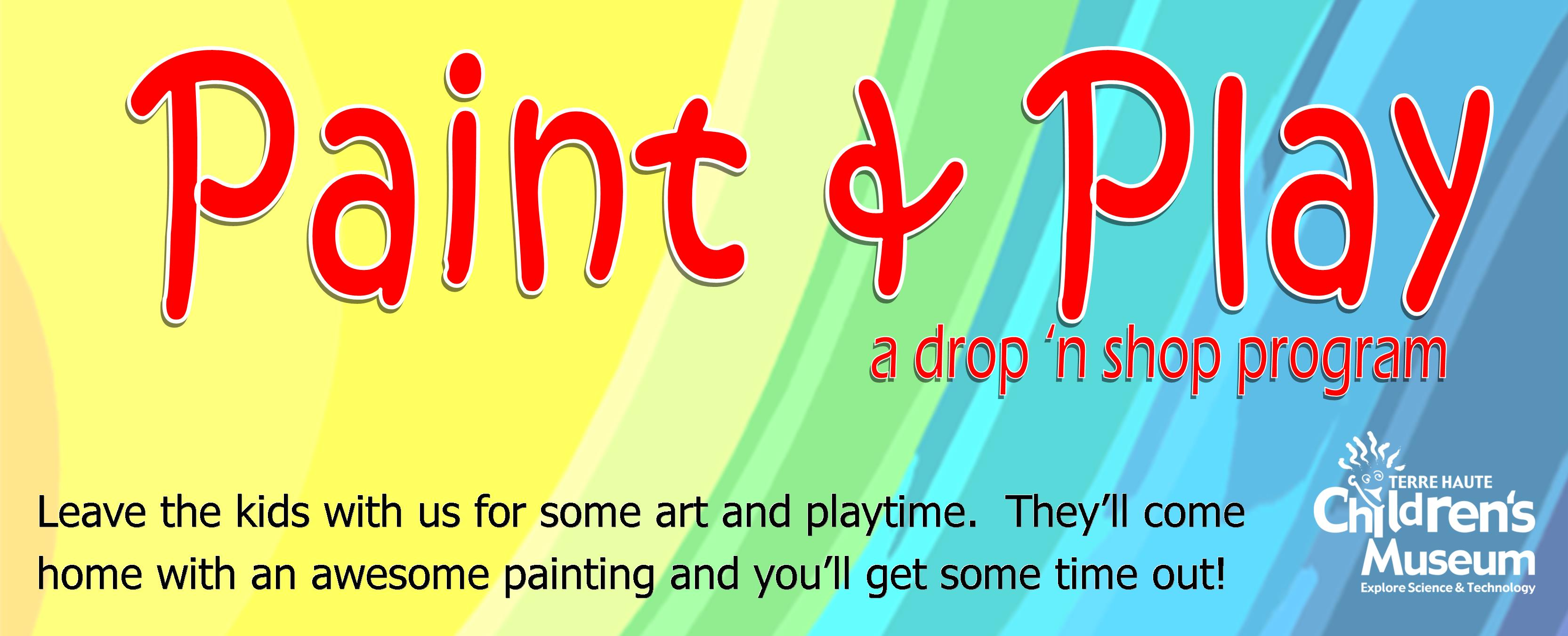 Paint & Play flier BANNER NEW